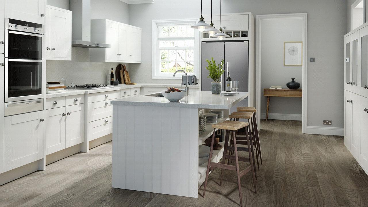 EA Kitchens Ivory Prelude