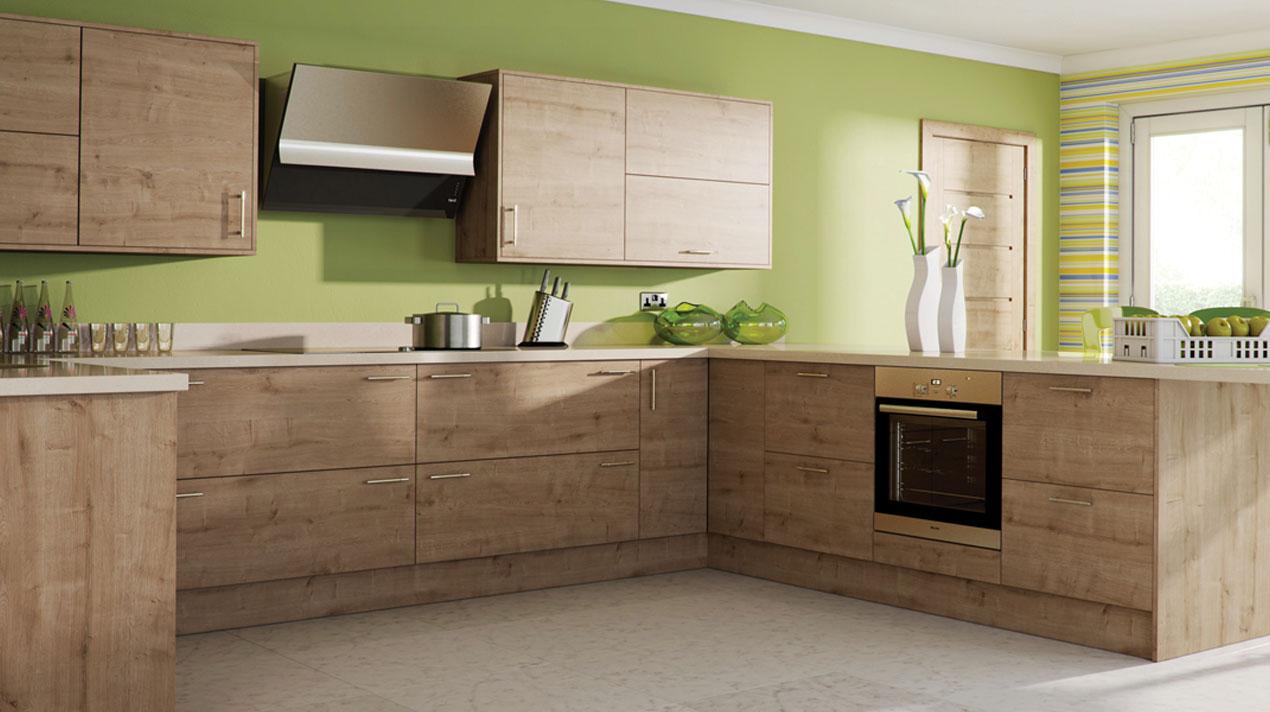 EA Kitchens Arlington Oak