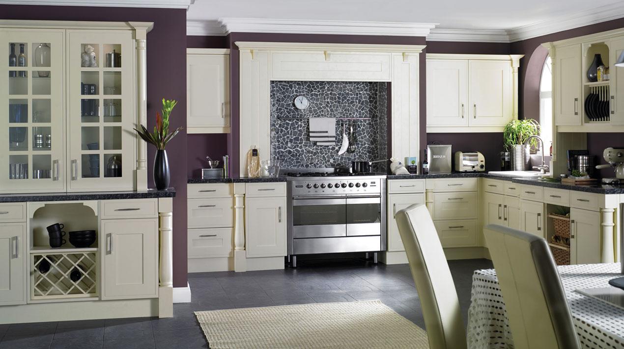 EA Kitchens Davenport Buttermilk