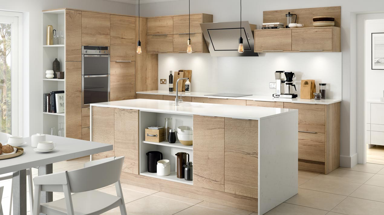 EA Kitchens Fusion Gloss Grey