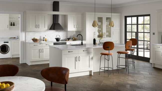 EA Kitchens Fusion Gloss Grey