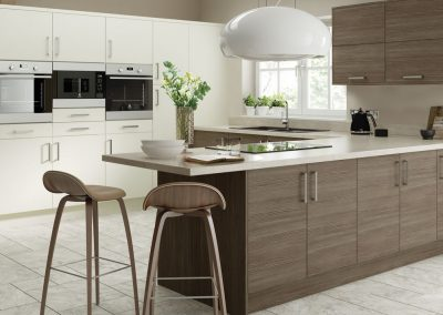 Contemporary Brown Grey Avola