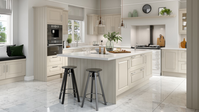 EA Kitchens Davenport Painted Range